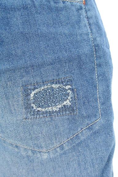 CUBE SUGAR(キューブシュガー)の古着「ダメージショートデニムパンツ(ショートパンツ・ハーフパンツ)」大画像5へ