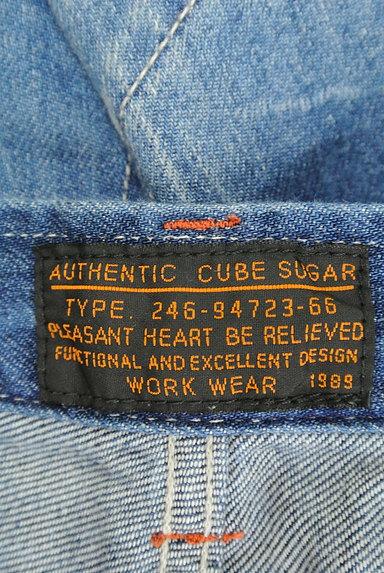 CUBE SUGAR(キューブシュガー)の古着「ダメージショートデニムパンツ(ショートパンツ・ハーフパンツ)」大画像6へ