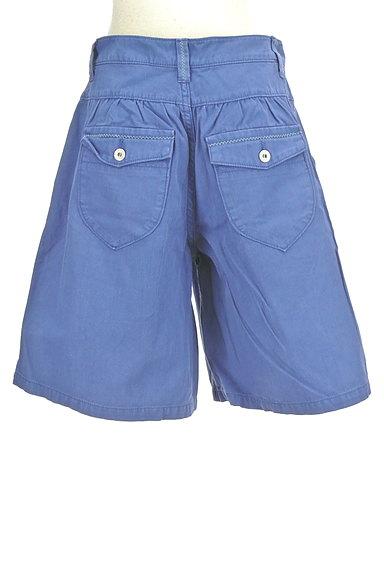 CUBE SUGAR(キューブシュガー)の古着「デニム風キュロットパンツ(ショートパンツ・ハーフパンツ)」大画像2へ