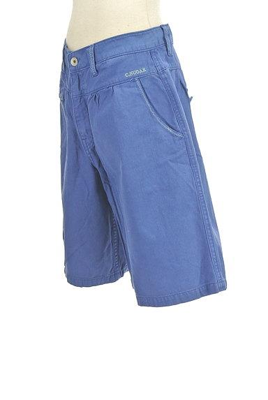 CUBE SUGAR(キューブシュガー)の古着「デニム風キュロットパンツ(ショートパンツ・ハーフパンツ)」大画像3へ