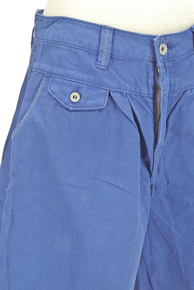 CUBE SUGAR(キューブシュガー)の古着「デニム風キュロットパンツ(ショートパンツ・ハーフパンツ)」大画像4へ