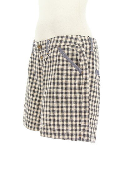 CUBE SUGAR(キューブシュガー)の古着「ギンガムチェックショートパンツ(ショートパンツ・ハーフパンツ)」大画像3へ