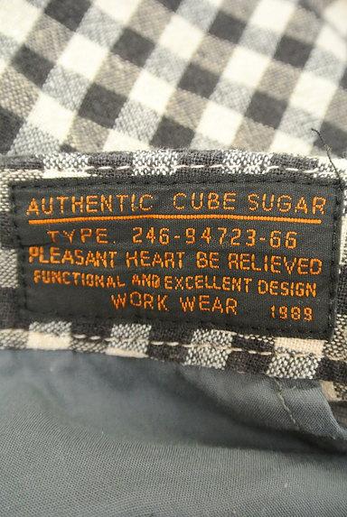 CUBE SUGAR(キューブシュガー)の古着「ギンガムチェックショートパンツ(ショートパンツ・ハーフパンツ)」大画像6へ