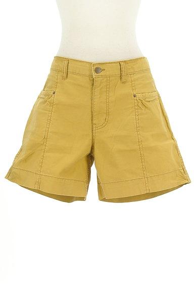 CUBE SUGAR(キューブシュガー)の古着「からし色キュロットパンツ(ショートパンツ・ハーフパンツ)」大画像1へ
