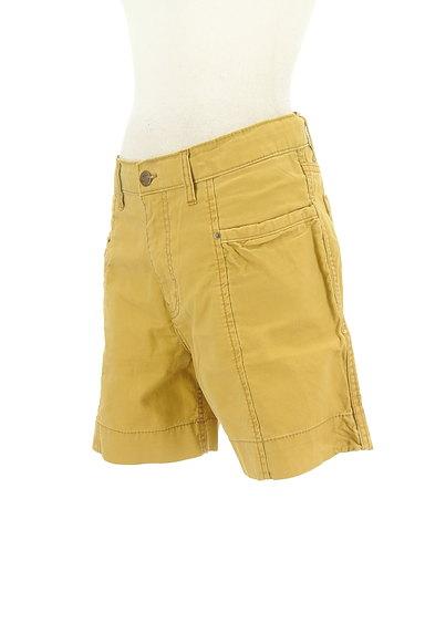 CUBE SUGAR(キューブシュガー)の古着「からし色キュロットパンツ(ショートパンツ・ハーフパンツ)」大画像3へ
