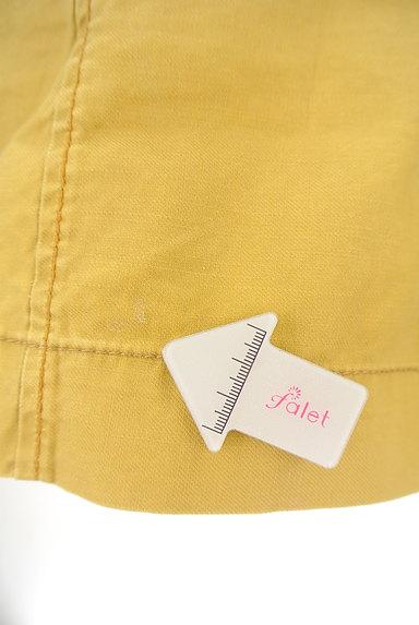 CUBE SUGAR(キューブシュガー)の古着「からし色キュロットパンツ(ショートパンツ・ハーフパンツ)」大画像5へ