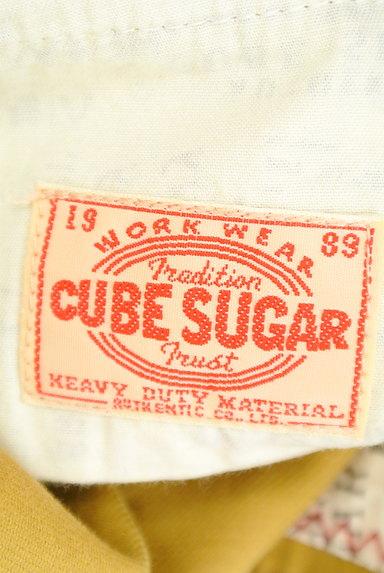 CUBE SUGAR(キューブシュガー)の古着「からし色キュロットパンツ(ショートパンツ・ハーフパンツ)」大画像6へ