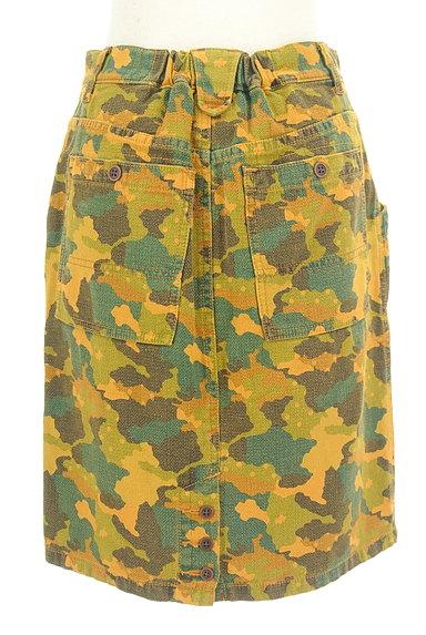 CUBE SUGAR(キューブシュガー)の古着「カモフラ柄タイトスカート(スカート)」大画像2へ