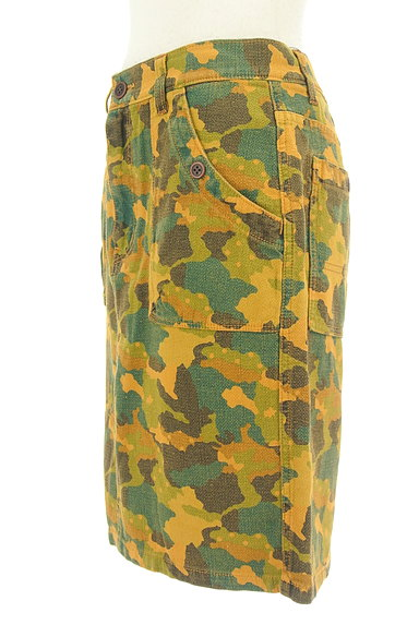 CUBE SUGAR(キューブシュガー)の古着「カモフラ柄タイトスカート(スカート)」大画像3へ