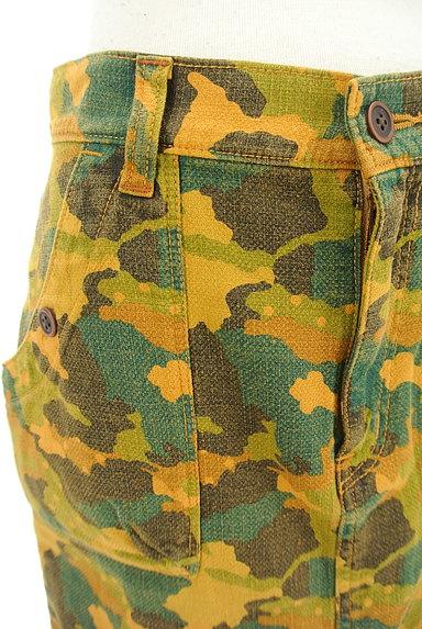 CUBE SUGAR(キューブシュガー)の古着「カモフラ柄タイトスカート(スカート)」大画像4へ