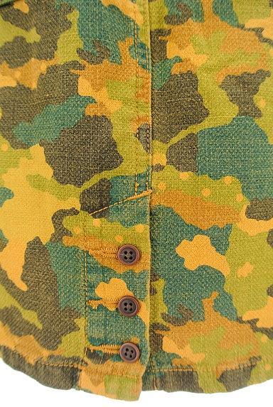 CUBE SUGAR(キューブシュガー)の古着「カモフラ柄タイトスカート(スカート)」大画像5へ