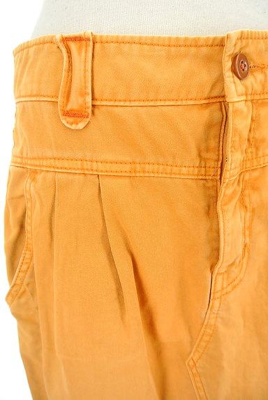 CUBE SUGAR(キューブシュガー)の古着「タックカラーデニムスカート(スカート)」大画像4へ