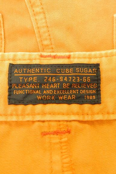 CUBE SUGAR(キューブシュガー)の古着「タックカラーデニムスカート(スカート)」大画像6へ