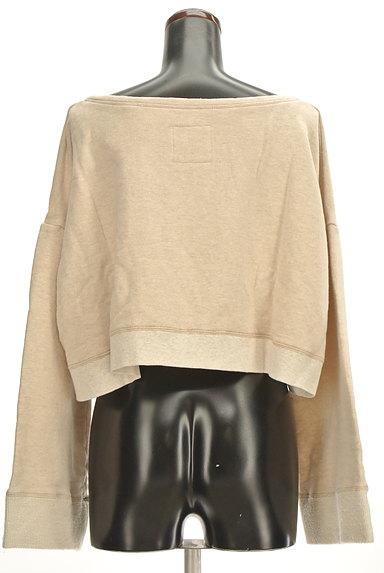 MOROKO BAR(モロコバー)の古着「コンパクトロゴスウェット(スウェット・パーカー)」大画像2へ