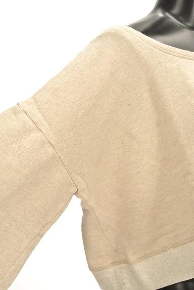 MOROKO BAR(モロコバー)の古着「コンパクトロゴスウェット(スウェット・パーカー)」大画像4へ
