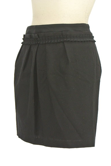 Viaggio Blu(ビアッジョブルー)の古着「ウエストフリルタックミニスカート(ミニスカート)」大画像3へ