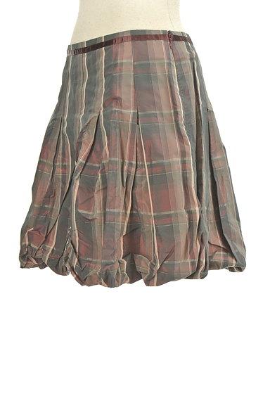 Lois CRAYON(ロイスクレヨン)の古着「タックバルーンミニスカート(ミニスカート)」大画像3へ