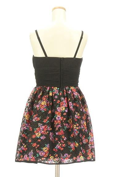 Lois CRAYON(ロイスクレヨン)の古着「花柄切替ミニキャミワンピ(キャミワンピース)」大画像2へ