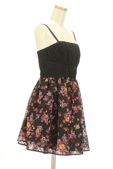 Lois CRAYON(ロイスクレヨン)の古着「花柄切替ミニキャミワンピ(キャミワンピース)」大画像3へ
