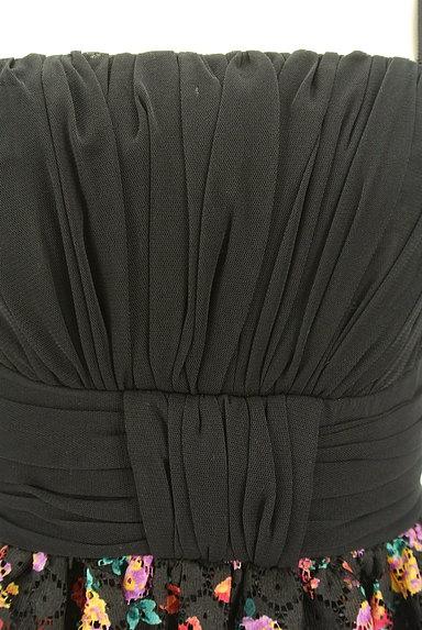 Lois CRAYON(ロイスクレヨン)の古着「花柄切替ミニキャミワンピ(キャミワンピース)」大画像4へ