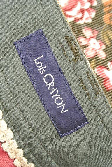 Lois CRAYON(ロイスクレヨン)の古着「コーデュロイ花柄ショートパンツ(ショートパンツ・ハーフパンツ)」大画像6へ