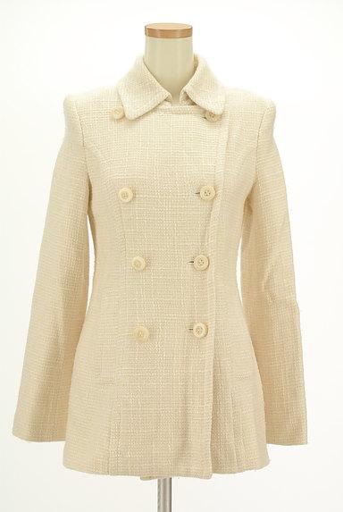 M-premier(エムプルミエ)の古着「襟付きフレアミドルコート(コート)」大画像1へ