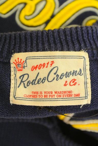 RODEO CROWNS(ロデオクラウン)の古着「ロゴ刺繍Vネックニット(ニット)」大画像6へ