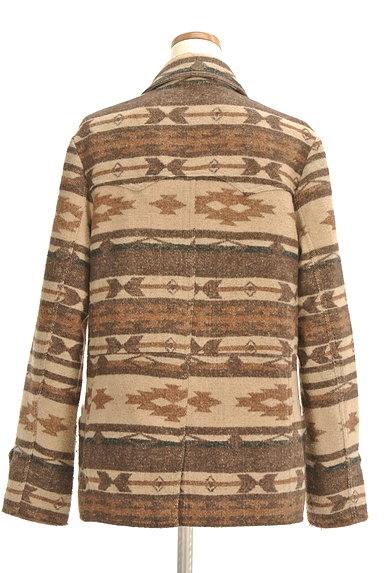 URBAN RESEARCH(アーバンリサーチ)の古着「オルテガ柄襟付きミドルコート(コート)」大画像2へ