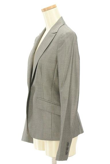 iCB(アイシービー)の古着「艶グレーテーラードジャケット(ジャケット)」大画像3へ