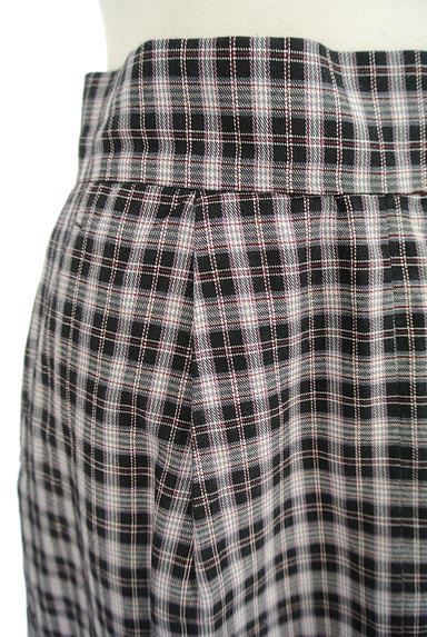 Khaju(カージュ)の古着「チェック柄スリットタイトスカート(ロングスカート・マキシスカート)」大画像4へ