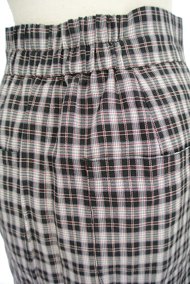 Khaju(カージュ)の古着「チェック柄スリットタイトスカート(ロングスカート・マキシスカート)」大画像5へ