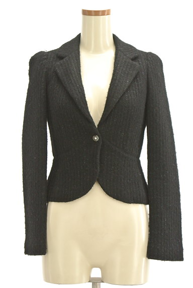 REBECCA TAYLOR(レベッカテイラー)の古着「ラメ混コンパクトジャケット(ジャケット)」大画像1へ