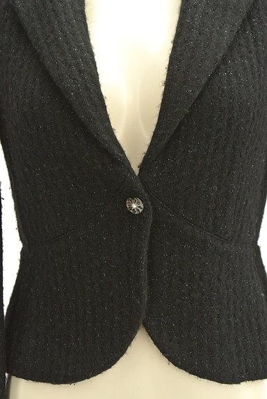 REBECCA TAYLOR(レベッカテイラー)の古着「ラメ混コンパクトジャケット(ジャケット)」大画像4へ