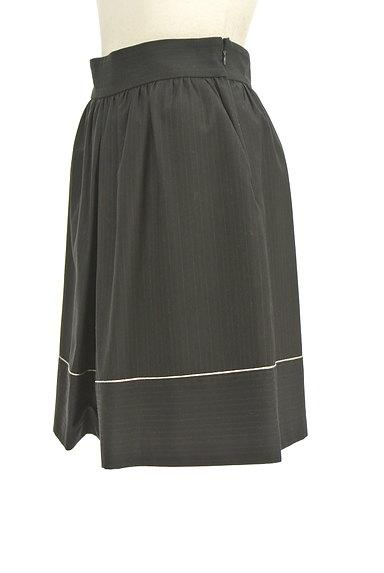 JILL by JILLSTUART(ジルバイジルスチュアート)の古着「ラメラインフレアスカート(ミニスカート)」大画像3へ