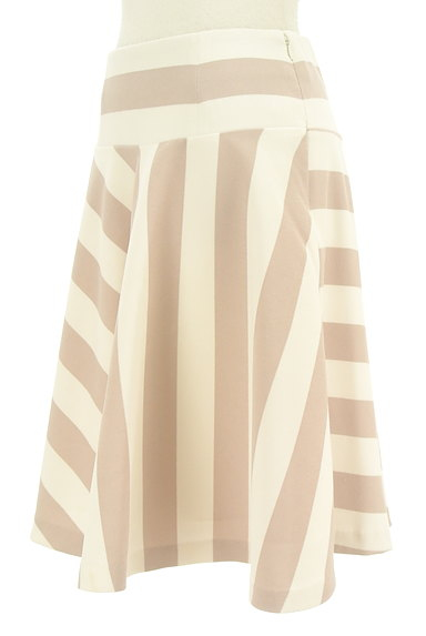 BEAMS Women's(ビームス ウーマン)の古着「膝丈ストライプ柄フレアスカート(スカート)」大画像3へ