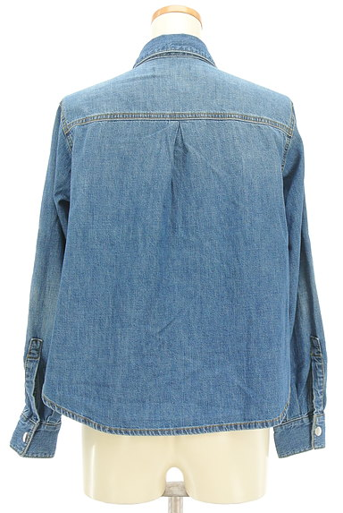 DIESEL(ディーゼル)の古着「ジップデニムシャツ(カジュアルシャツ)」大画像2へ