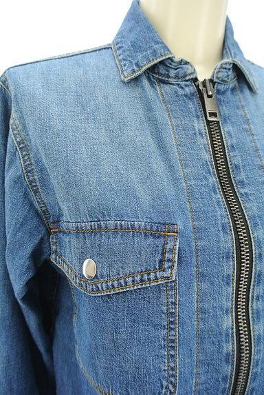 DIESEL(ディーゼル)の古着「ジップデニムシャツ(カジュアルシャツ)」大画像4へ