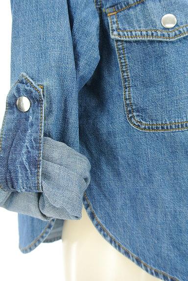 DIESEL(ディーゼル)の古着「ジップデニムシャツ(カジュアルシャツ)」大画像5へ