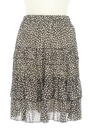 JUSGLITTY(ジャスグリッティー)の古着「ハート柄シアーフリルスカート(スカート)」大画像1へ