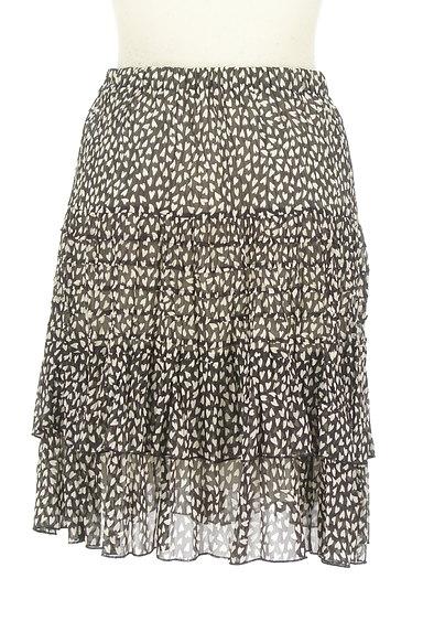 JUSGLITTY(ジャスグリッティー)の古着「ハート柄シアーフリルスカート(スカート)」大画像2へ