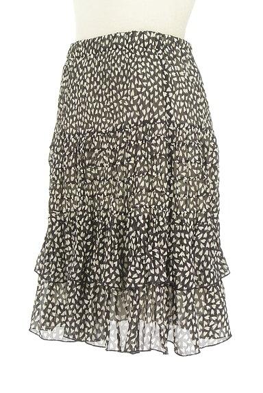 JUSGLITTY(ジャスグリッティー)の古着「ハート柄シアーフリルスカート(スカート)」大画像3へ