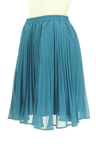 JUSGLITTY(ジャスグリッティー)の古着「ミディ丈シアープリーツスカート(ミニスカート)」大画像3へ