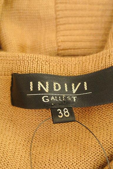 INDIVI(インディヴィ)の古着「コンパクトニットカーディガン(カーディガン・ボレロ)」大画像6へ