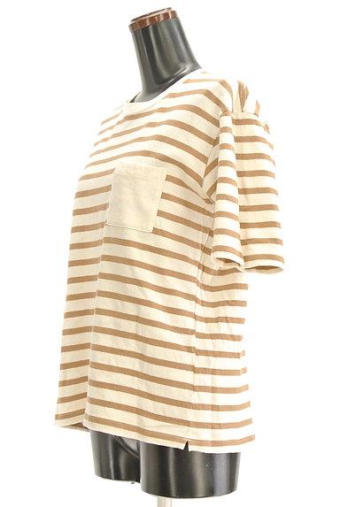 UNITED ARROWS(ユナイテッドアローズ)の古着「ポケット付ボーダーTシャツ(Tシャツ)」大画像3へ