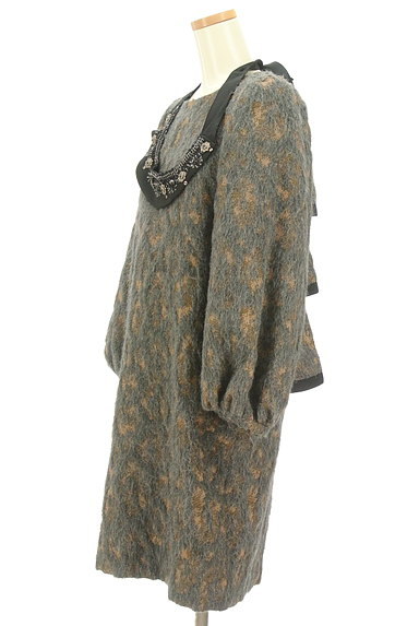 Kaon(カオン)の古着「付け襟バックフリルワンピース(ワンピース・チュニック)」大画像3へ