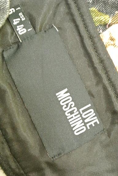 LOVE MOSCHINO(ラブモスキーノ)の古着「ハートベルト花柄ミニスカート(ミニスカート)」大画像6へ