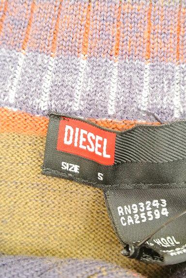 DIESEL(ディーゼル)の古着「ビッグカラーボーダーニット(ニット)」大画像6へ