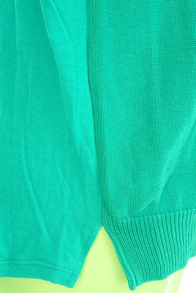 MICHEL KLEIN(ミッシェルクラン)の古着「異素材切替ニット(ニット)」大画像5へ