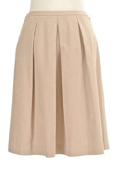 MICHEL KLEIN(ミッシェルクラン)の古着「膝丈タックフレアスカート(スカート)」大画像1へ