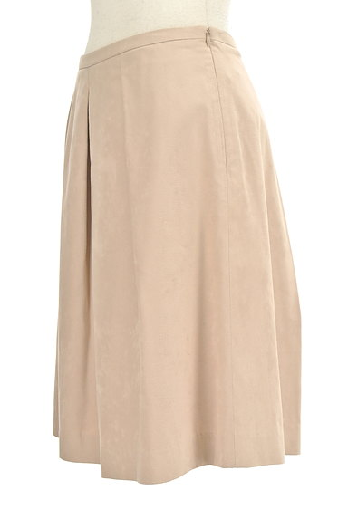 MICHEL KLEIN(ミッシェルクラン)の古着「膝丈タックフレアスカート(スカート)」大画像3へ